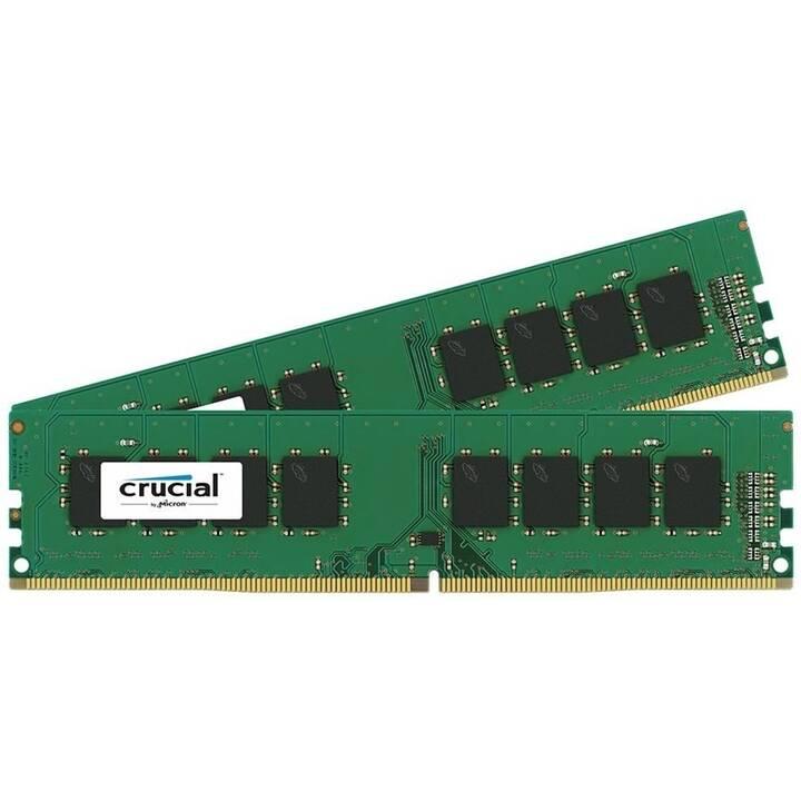 CRUCIAL CT2K4G4DFS824A (2 x, 4 Go, DDR4-SDRAM, DIMM 288-Pin)