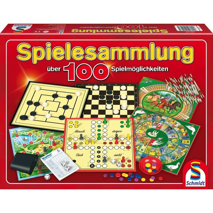SCHMIDT Spielesammlung über 100 Spiele Jeu de société