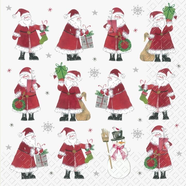 STEWO Papierserviette Jordi (33 cm x 33 cm, 20 Stück, Weihnachten)