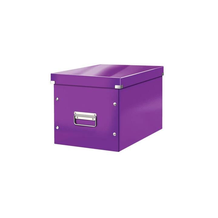 LEITZ Click&Store Cube L 320 x 45 x 360 mm Violet