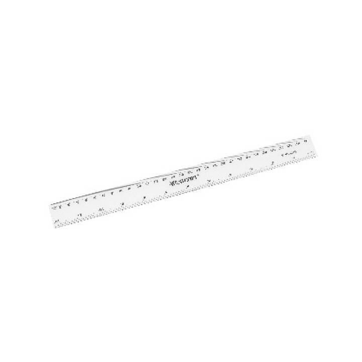 WESTCOTT Kunststofflineal 30cm