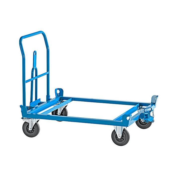 EUROKRAFT Carello transporto & Ruolo per mobili (500 kg)