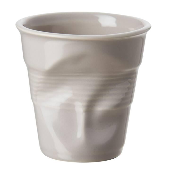 REVOL Tazza per cappuccino pieghevole, 18 cl, taupe