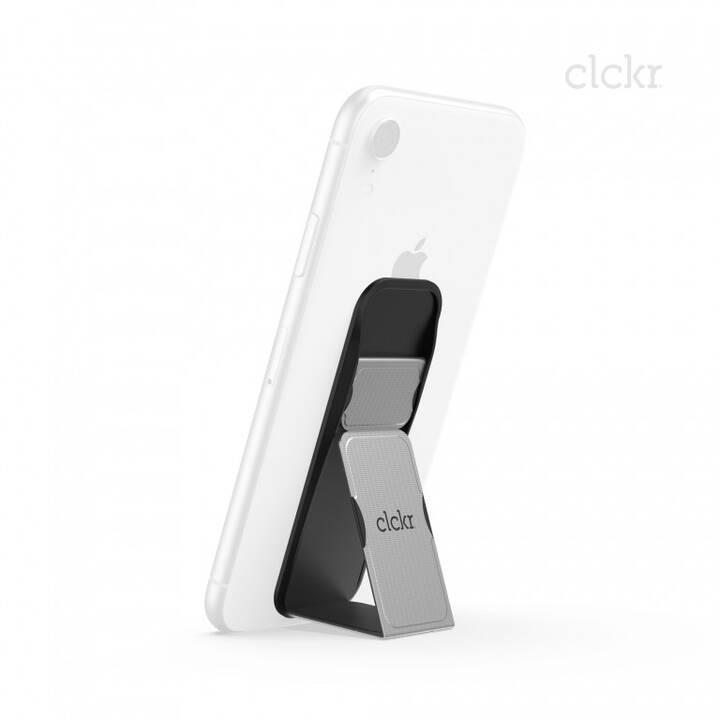 CLCKR Grip&Stand S Fingerhalter (Silber)