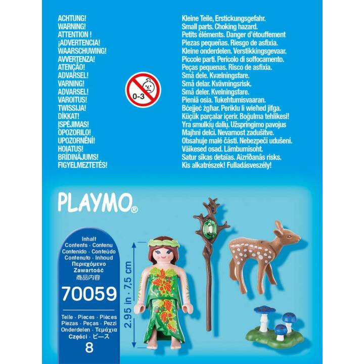 PLAYMOBIL Playmobil Special Plus Nymphe et faon (70059)