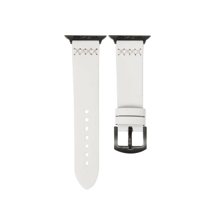 EG MTT cinturino per Apple Watch 42 mm / 44 mm - bianco