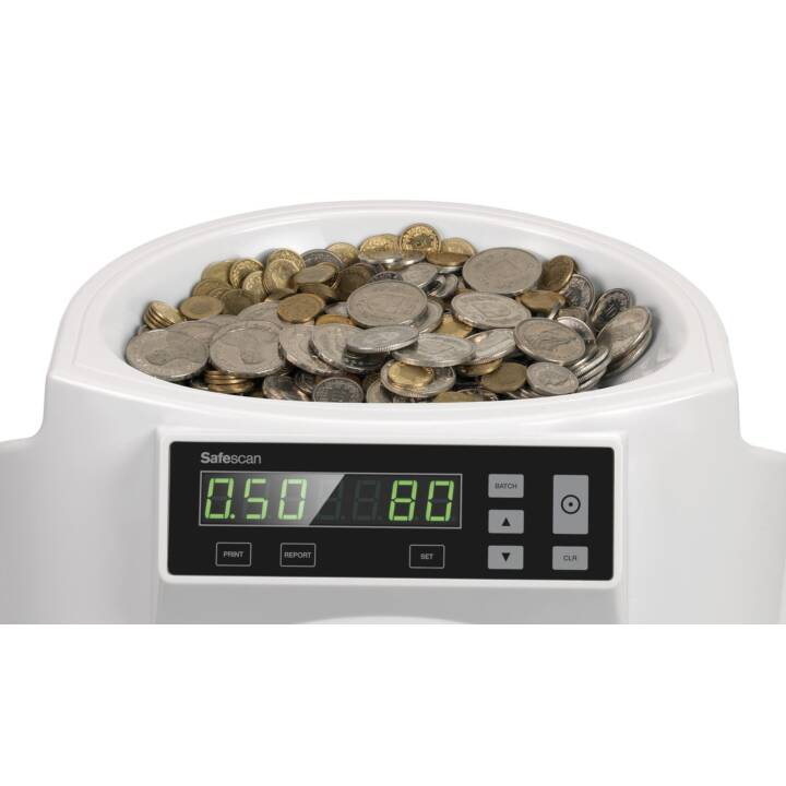 SAFESCAN 1250 EUR Münzzähler