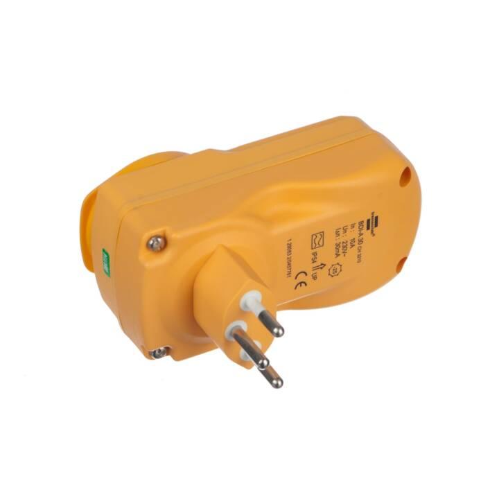 Personenschutz FI-Stecker 3Pol, T13,Outd