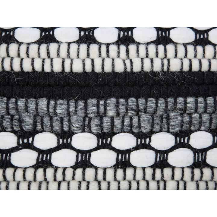 BELIANI Tabouret assis (Noir, Blanc)