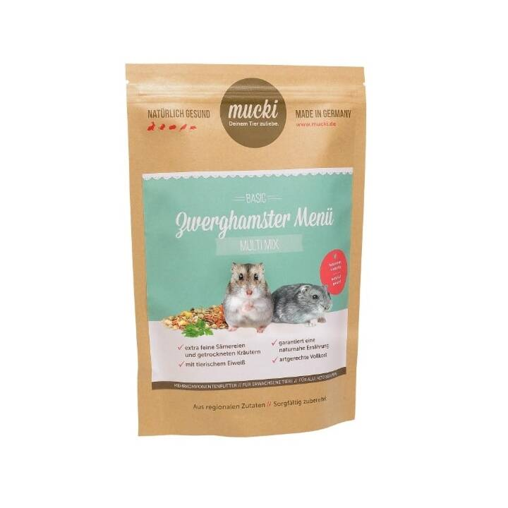 MUCKI Mangime di base Multi Mix (400 g, Criceto)