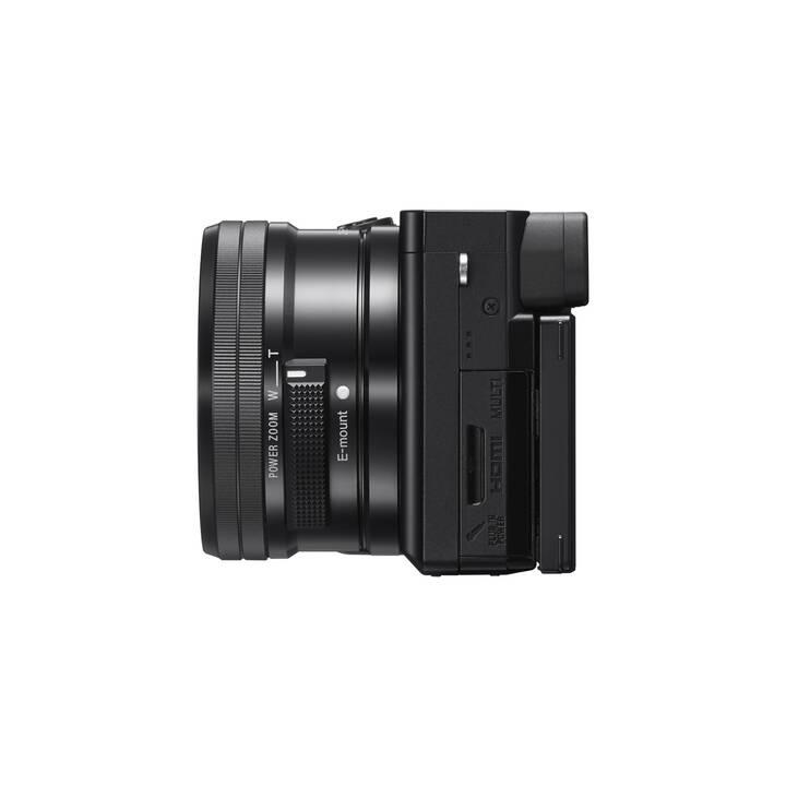 SONY Alpha 6100 + E PZ 16–50 mm Kit (24.2 MP, APS-C)