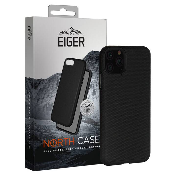 EIGER Backcover (iPhone 11 Pro Max, Nero)