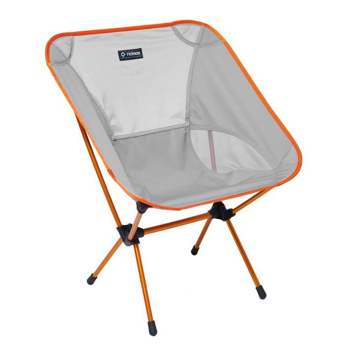 HELINOX Campingstuhl Chair One L (Orange, Grau)