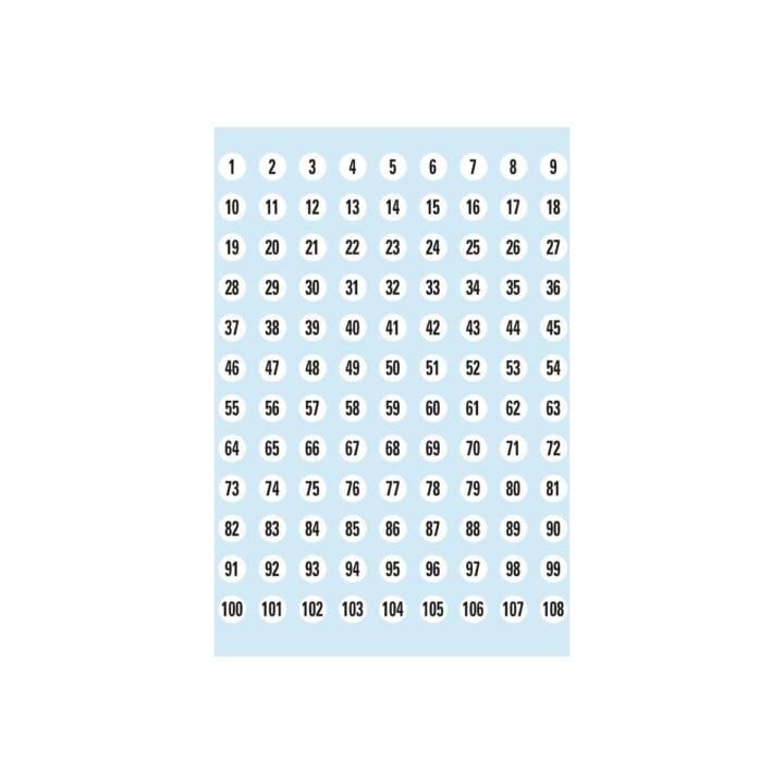 Etiquettes d'identification HERMA 1-540 5 pièces