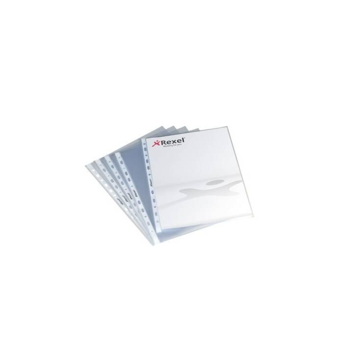 REXEL sachets d'exposition A4 100 pièces