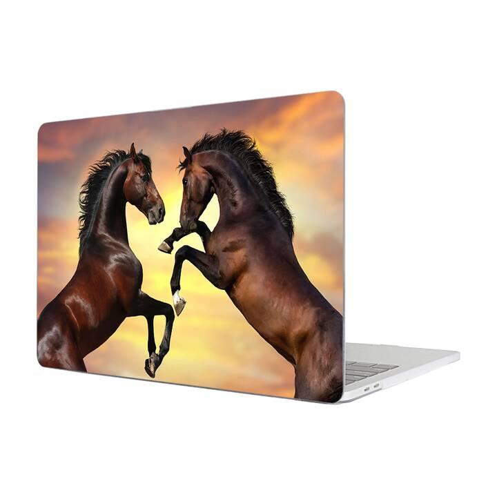 """EG MTT Housse pour MacBook Pro 13"""" (2016 - 2018) - cheval"""