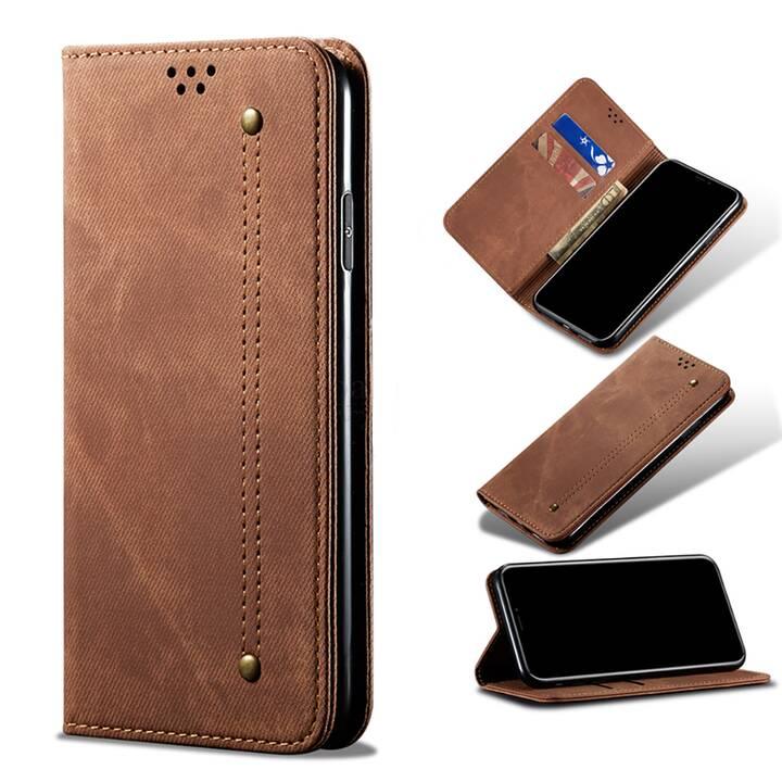 """EG Mornrise Custodia a portafoglio per Samsung Galaxy A51 6.5 """"2020 - Marrone"""