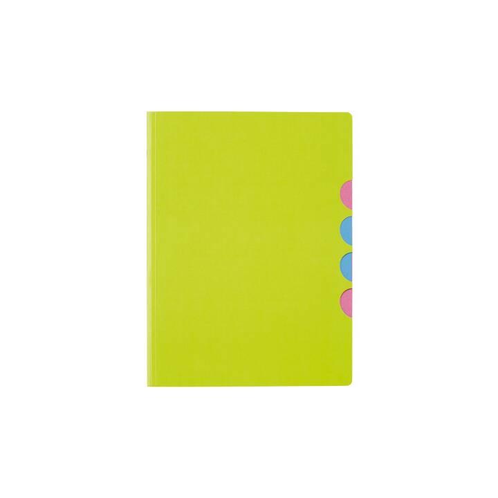 PAGNA chemise à 5 compartiments Style up vert citron vert