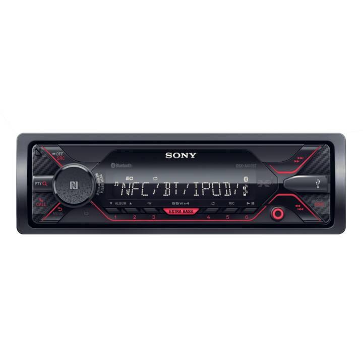 SONY DSXA410BT, Autoradio, Schwarz