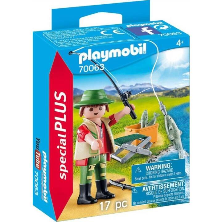 PLAYMOBIL Playmobil Special Plus Pêcheur à la ligne (70063)