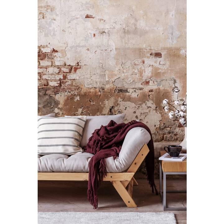 KARUP DESIGN Bebop Divano letto (Poliestere, Cotone, Petrol, Bianco, 174 cm x 80 cm)