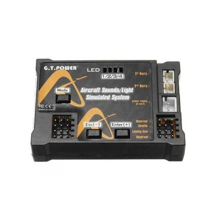 G. T. POWER Soundmodul Aircraft Sounds/Light Simulated System