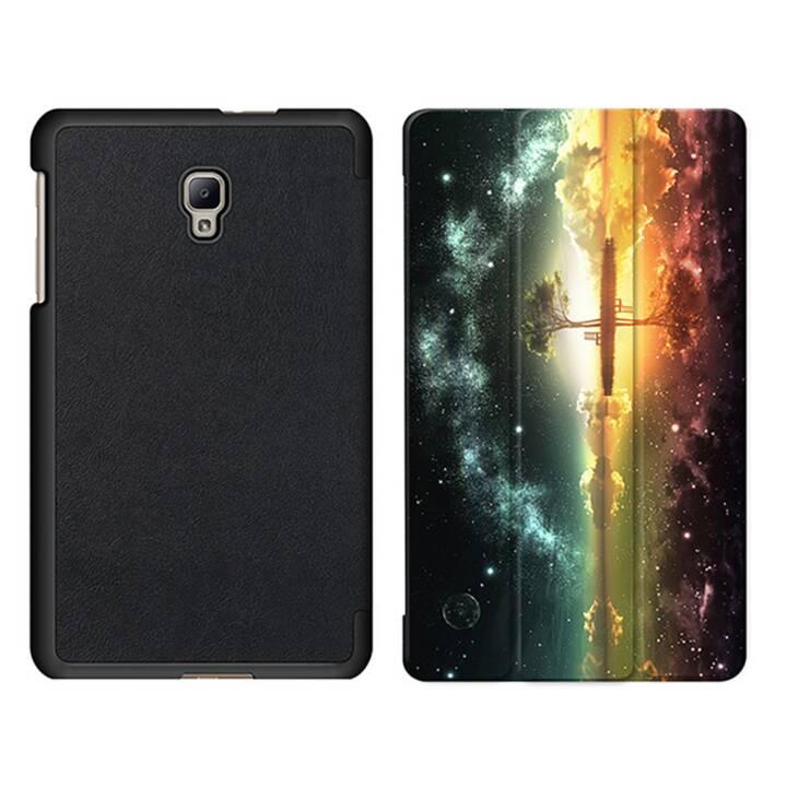"""EG MTT Tablet Tasche mit Smart faltbare Abdeckung für Samsung Galaxy Tab A 8"""" (2017)- Sky"""