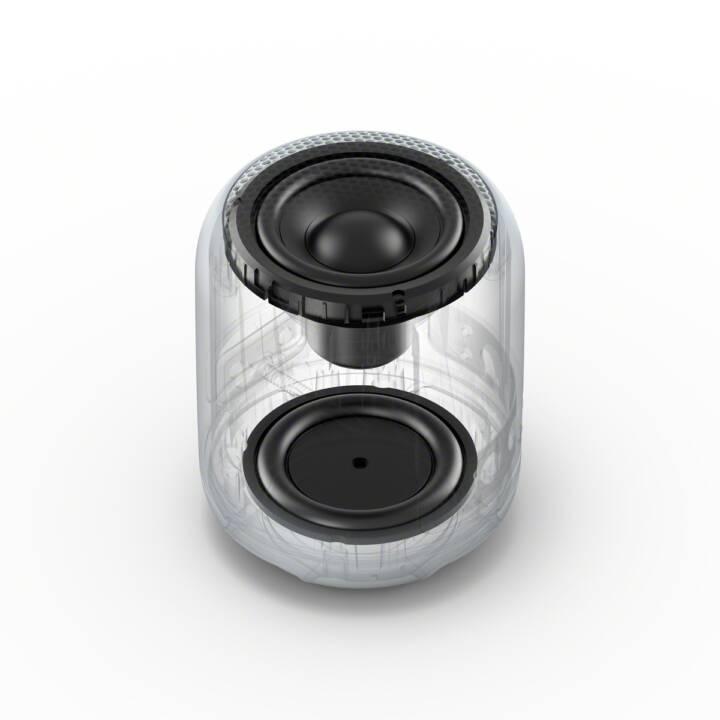 SONY SRS-XB12H (Bluetooth, Wireless, wasserfest, tragbar, Grau)