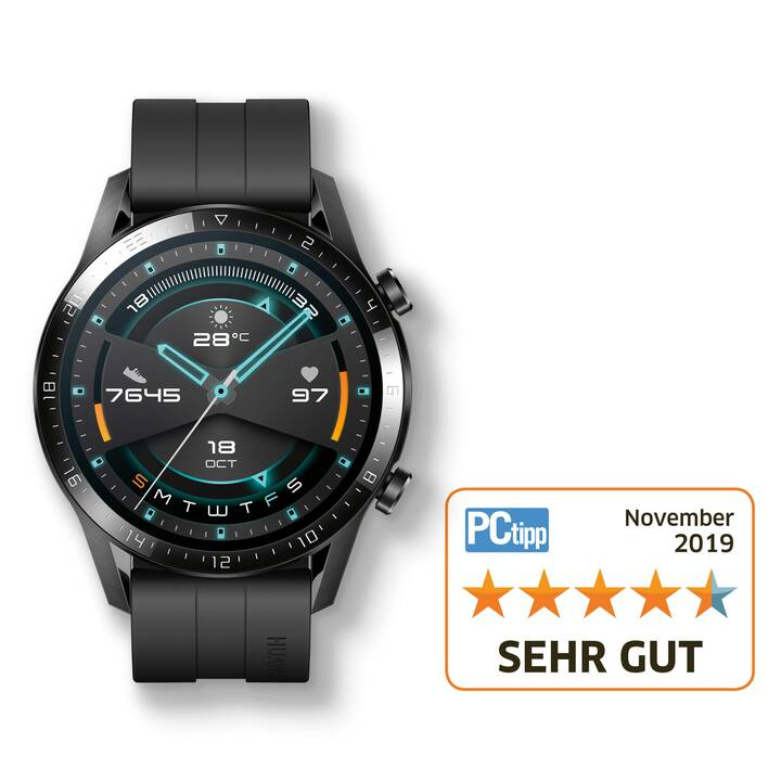 HUAWEI Watch GT 2 (46 mm, Kunststoff, Silikon)