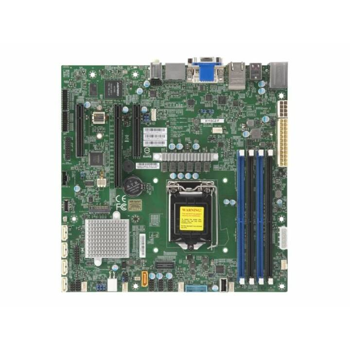SUPERMICRO X11SCZ-F (LGA 1151, Intel C246, Micro ATX)