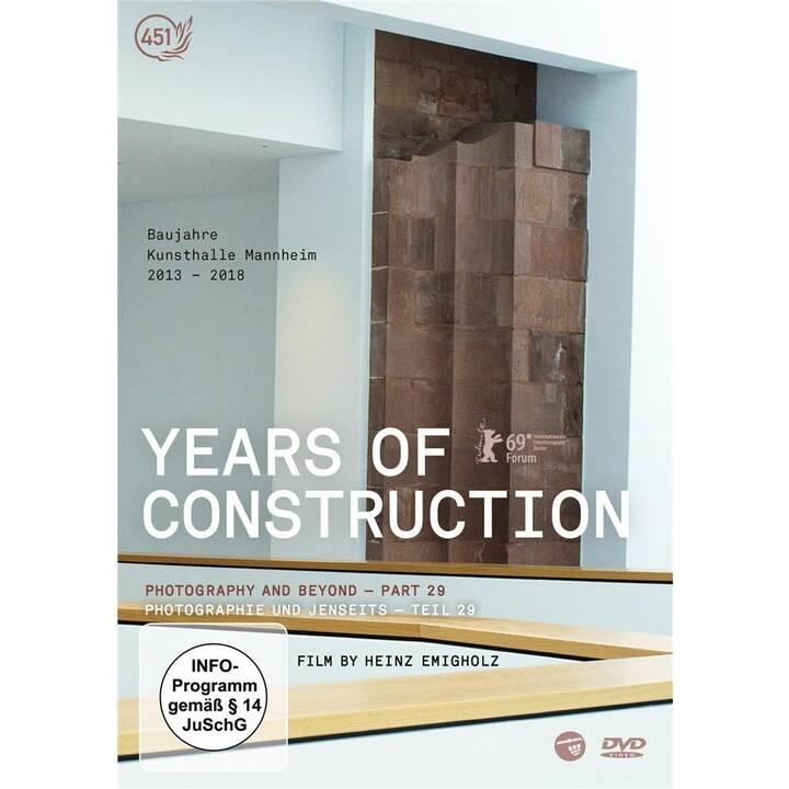 Years of Construction (DE)
