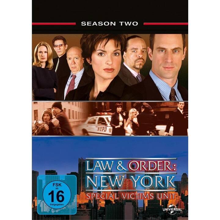 Law & Order - Special Victims Unit Stagione 2 (EN, DE)