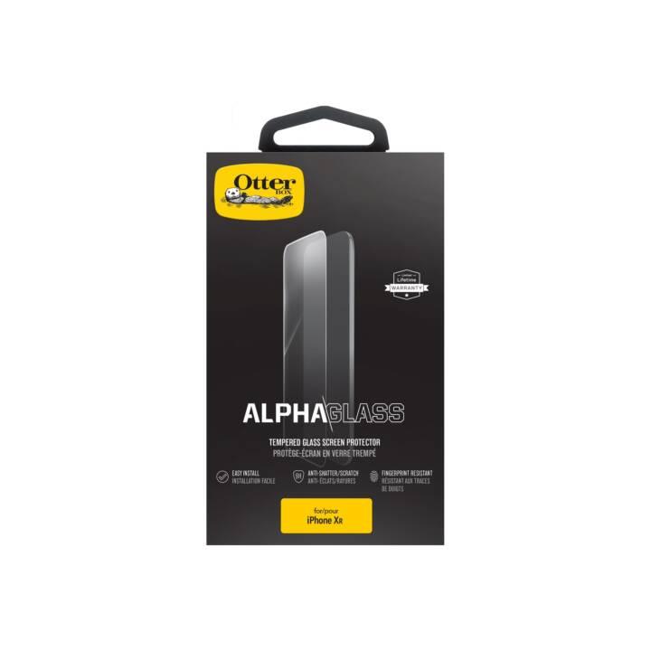 OTTERBOX Verre de protection d'écran Alpha iPhone XR (Clair)