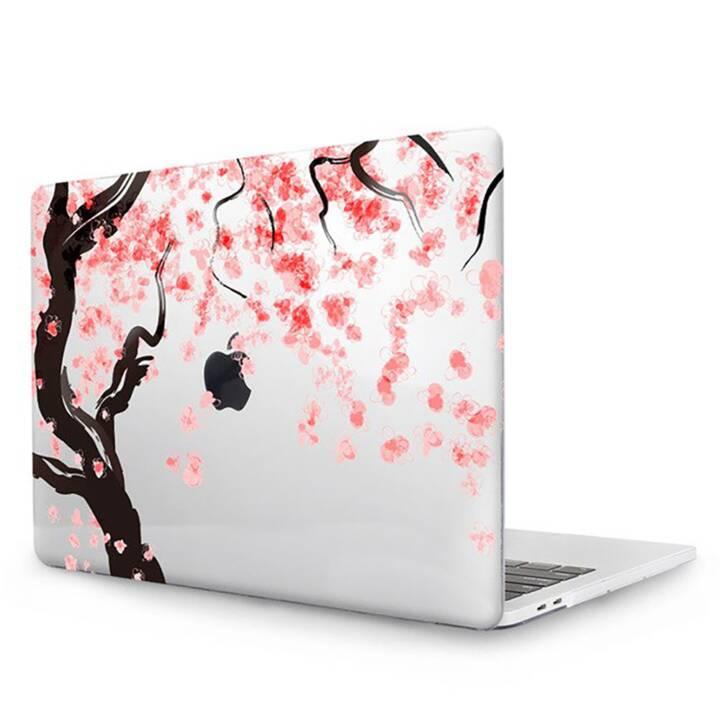 """EG MTT Cover pour MacBook Pro 13"""" CD ROM - Fleurs roses"""