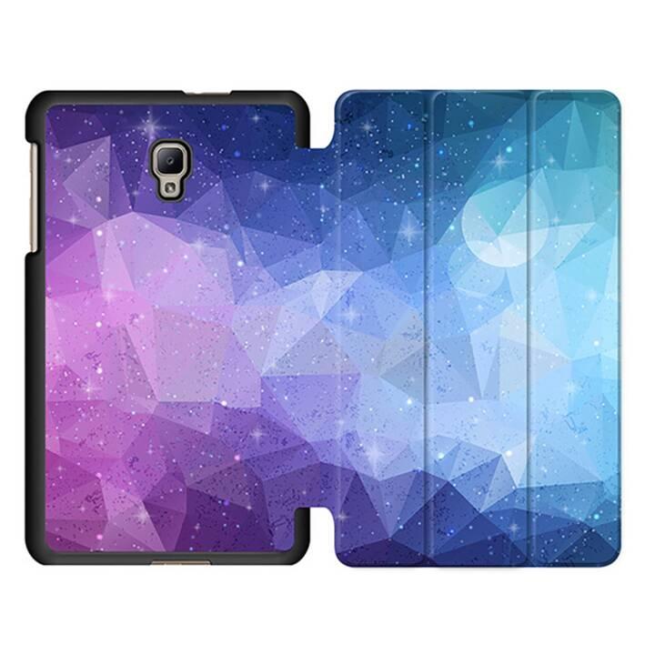 """EG MTT Sacoche à comprimés avec étui Smart pliable pour Samsung Galaxy Tab A 8 """"- Purple Tablet"""
