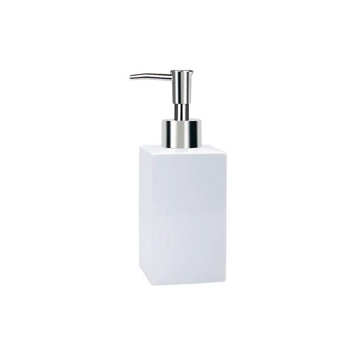 SPIRELLA Distributeur de savon Quadro (Blanc)