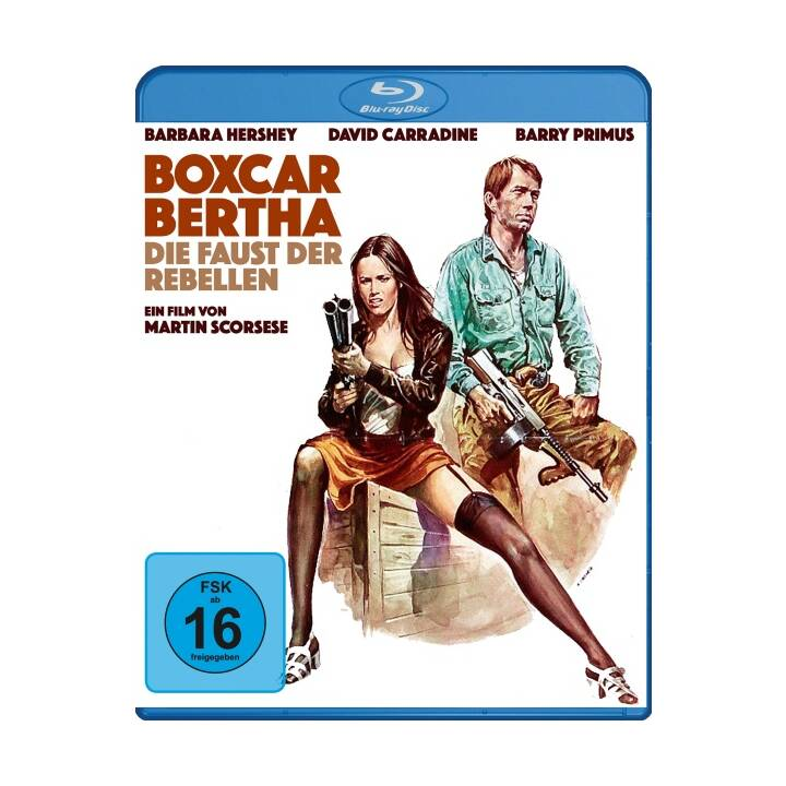 Boxcar Bertha - Die Faust der Rebellen (DE, EN)