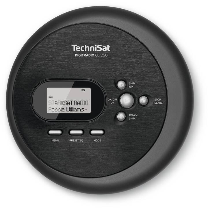 TECHNISAT CD 2GO Radio digitale (Nero)