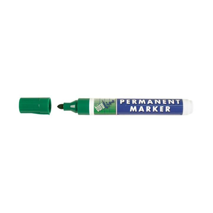 BÜROLINE Marqueur permanent vert