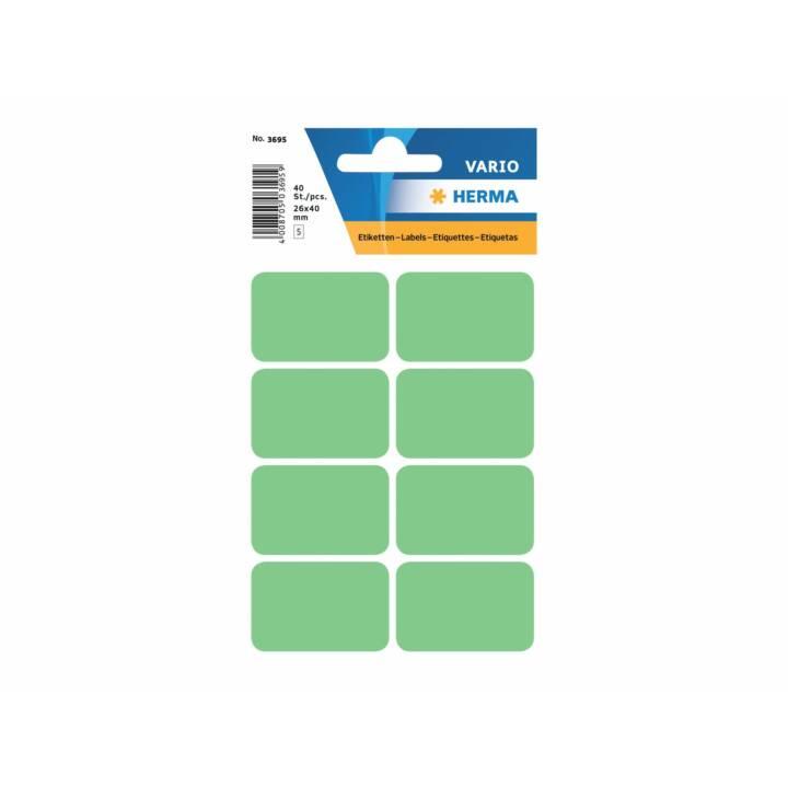 HERMA Étiquettes (Vert, 40 pièce)