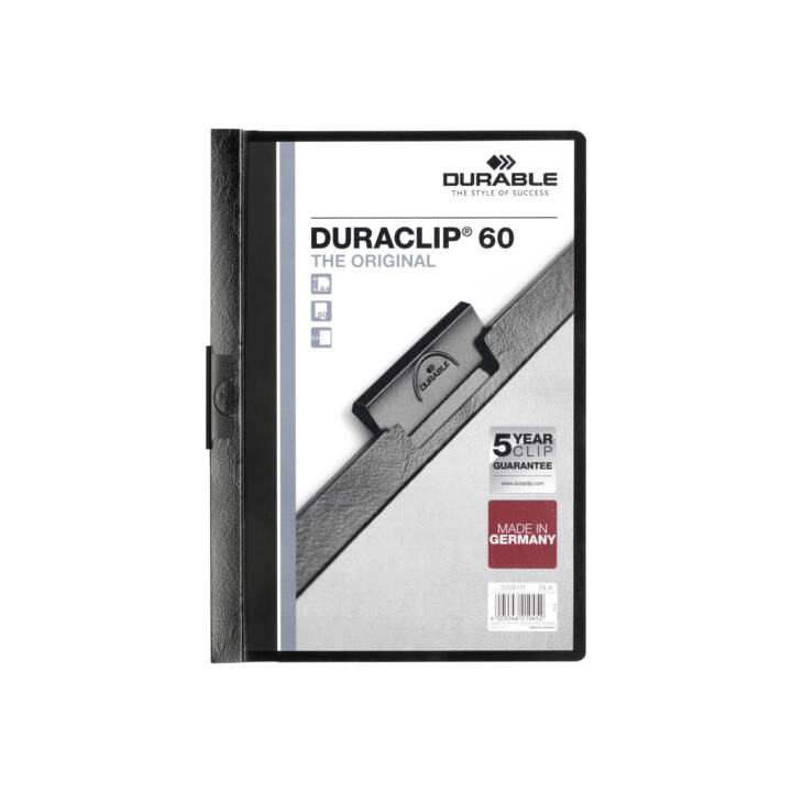 DURABLE Duraclip 60 A4 nero