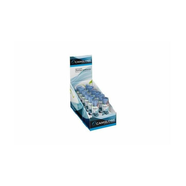 CAMGLOSS Microfasertuch (Blau, 12 Stück)