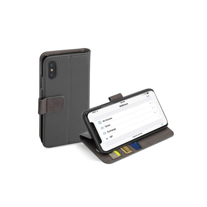 SBS Flipcover Mobile Wallet Case  (iPhone X, iPhone XS, Grigio)