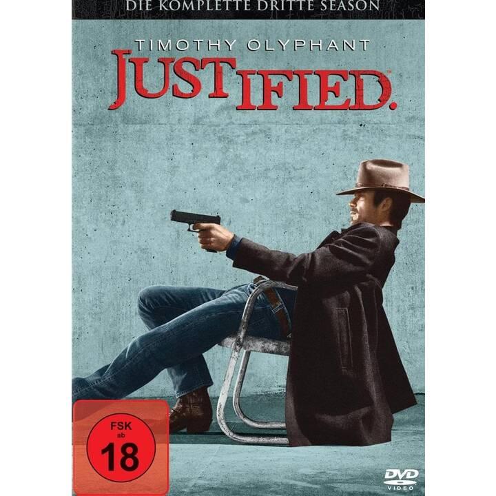 Justified Staffel 3 (EN, DE, IT, EN, DE, IT)