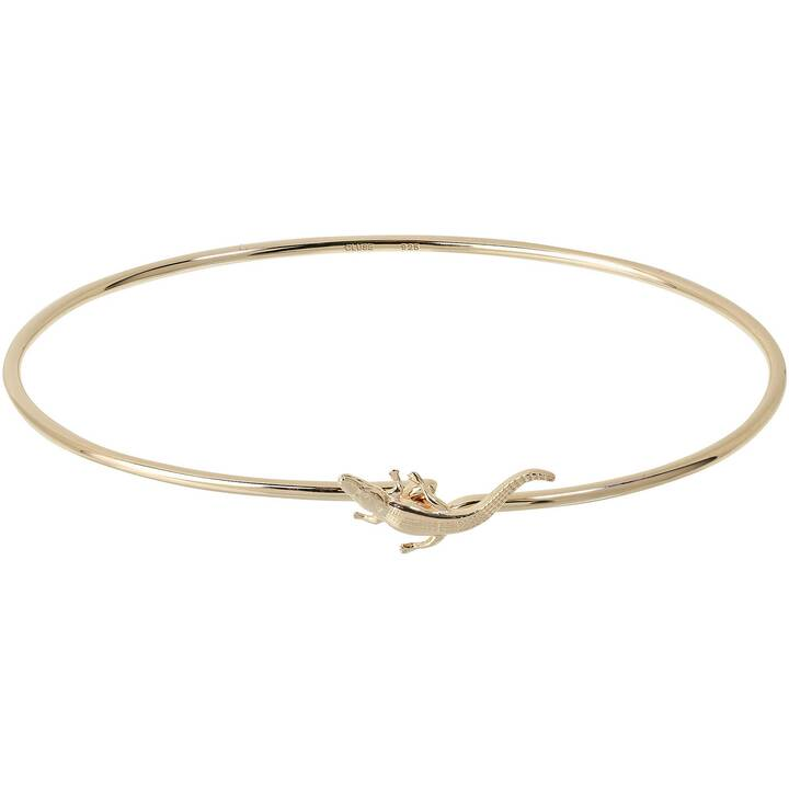 CLUSE Force Tropicale Alligator Gold  Armband