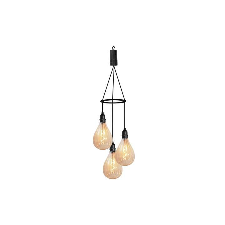 LUXFORM Lampada decorativa (LED incorporato, Nero)