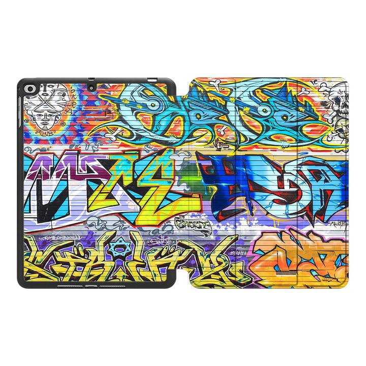 """EG MTT Custodia per Apple iPad Pro 2018 11"""" - Graffiti"""