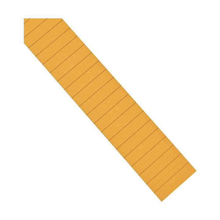 MAGNETOPLAN Etichetta ferrocard (Arancione, 615 pezzo)