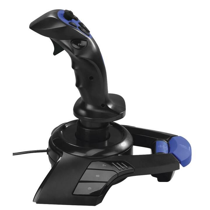 URAGE Airborne 300 Joystick (Blu, Nero)