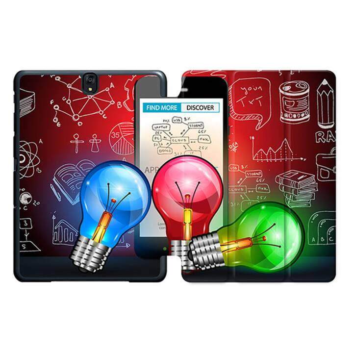 "EG MTT Tablet Bag con coperchio pieghevole Smart per Samsung Galaxy Tab S3 9.7"" MTT - Lampadina"
